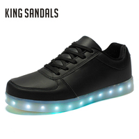 Glowing Shoes For Women Light Up Ladies Led Shoes Comfortable Girls Luminous Flats Zapatillas Deportivas Students