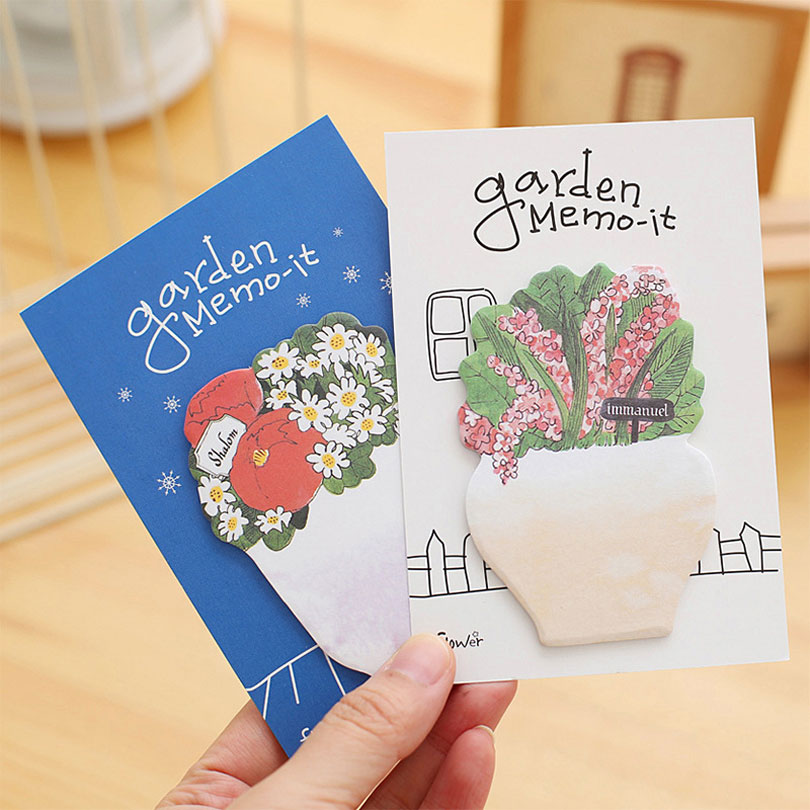 Kawaii stylo Sticky Notes N times posted School Office paper Planner Stickers stationery Material Escolar JUGAL