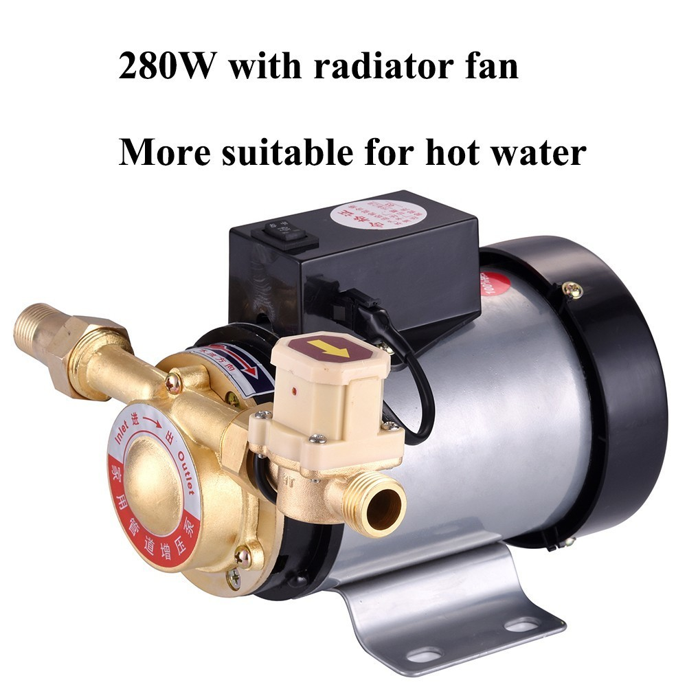 Household Mute Booster Pump For Tap Water Pipeline/Heater With Automatic Flow Switch,Solar Energy Panels,Hot and cold water