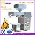 30 kg/h comercial eléctrica totalmente de acero inoxidable máquina de prensa de aceite frío prensa caliente Coco prensatelas aceite de cacahuete