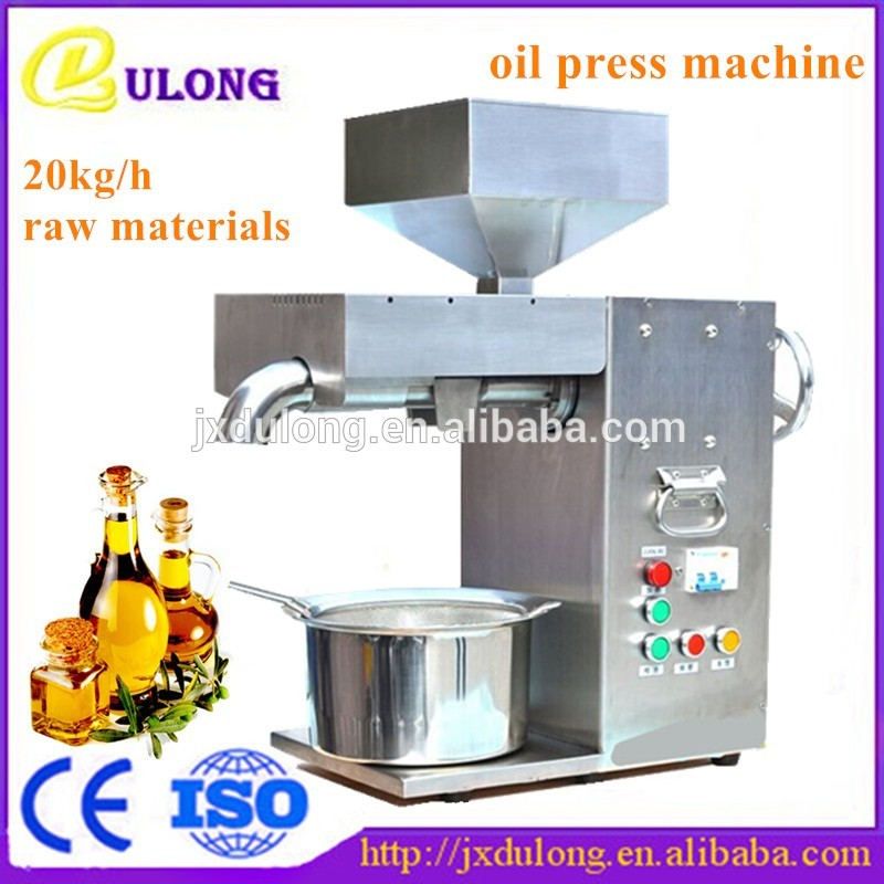 30kg/h Commercial Electric Fully  Stainless steel Oil press machine Cold hot press Coconut Peanut Oil Presser
