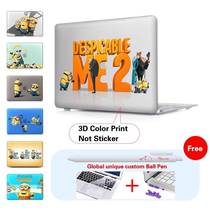 Minion Dressing Room Matte Laptop Väska Omslagsmycke För Macbook - Laptop-tillbehör - Foto 3