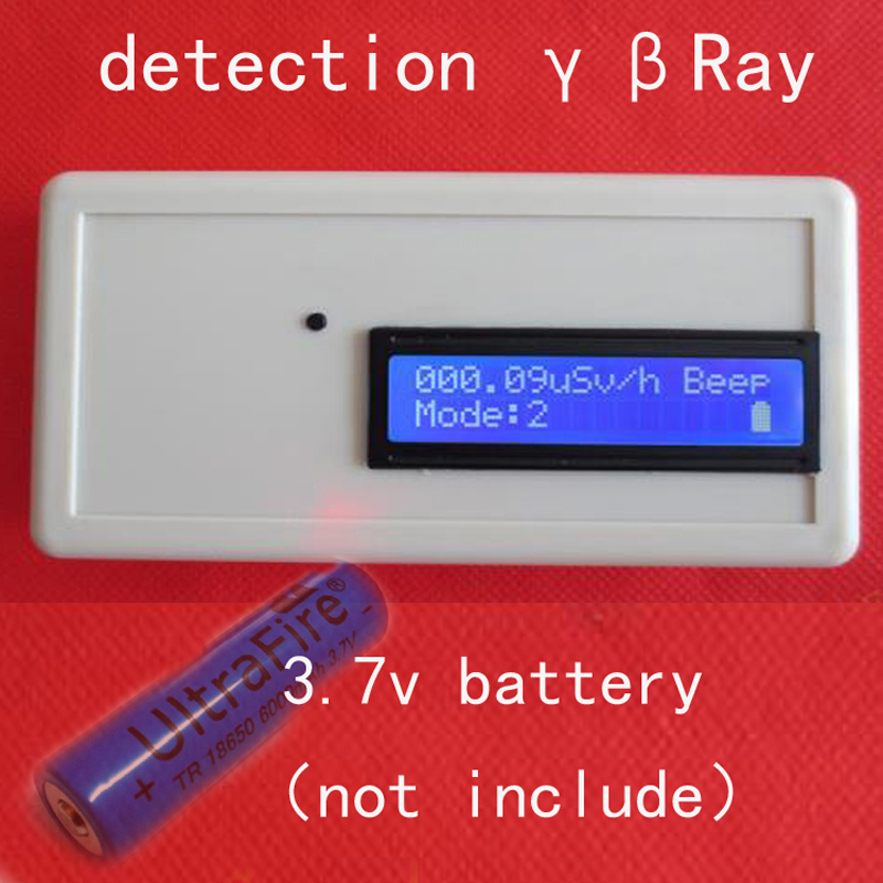 Handheld nuclear radiation detection Geiger counter / Marble radiation / individual dose / Ore /meter  (gamma),  (beta) rays gmv2s geiger counter nuclear radiation detector personal dosimeter beta gamma x ray with alarm 2 4 tft lcd radioactive detector