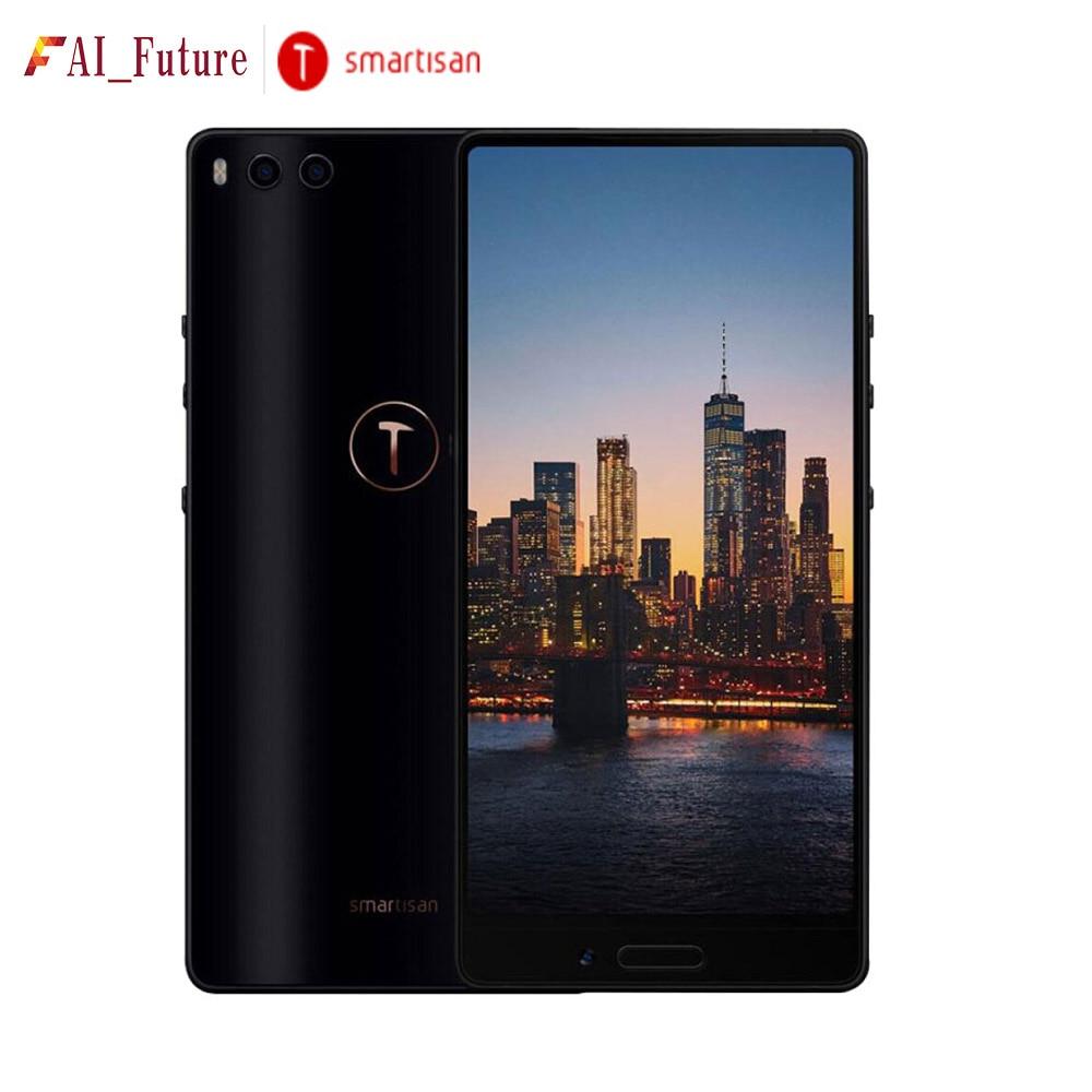 Smartisan Nut U3 Full screen with Dual Camera 4GB 64GB Snapdragon 625 5.99'' 4000mAh Face ID Fingerprint ID 4G LTE Mobile Phone