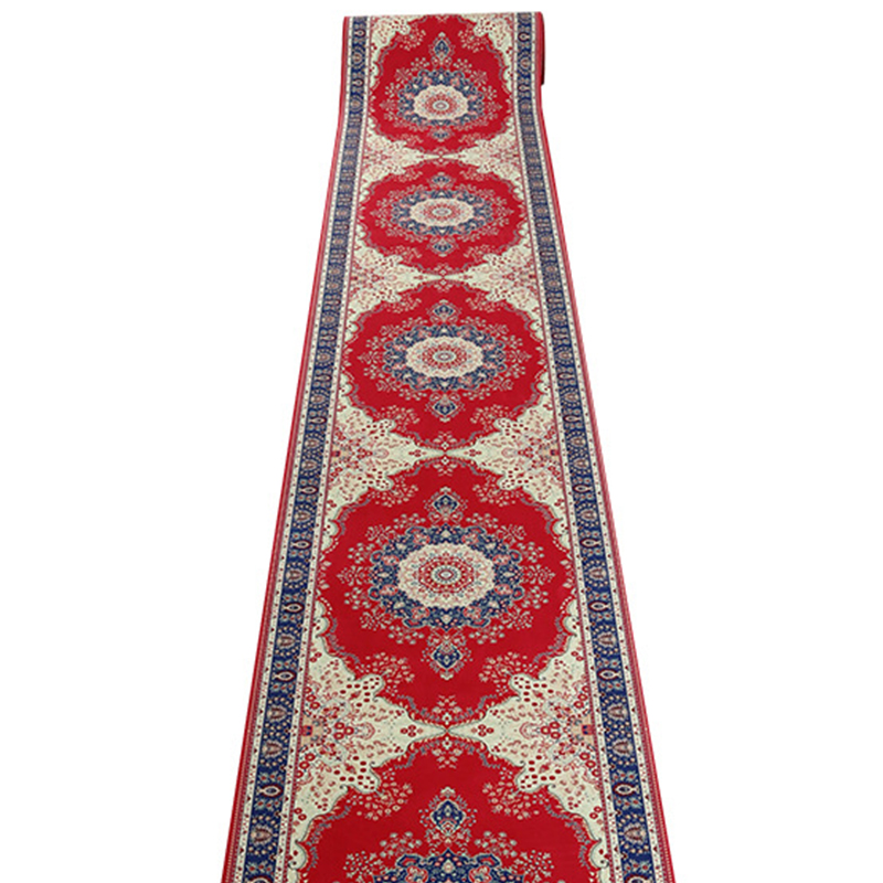 Us 22 51 40 Off Persian European Door Mat Carpet Hotel Hallway Carpets Bedroom Living Room Red Wedding Long Runner Rugs Kitchen Anti Skid Mats In