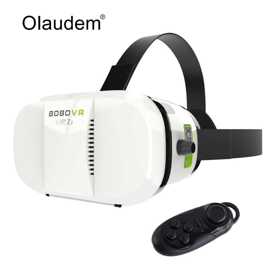 2ebc8cd0a8ff VR Glasses Virtual Reality 3D Headset Google Cardboard VR BOX 2.0 Glass  with Bluetooth controller for Smartphone VR219