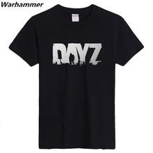 Fabulous T shirt Men GAME DAYZ Printed Short Sleeved Birthday Gifts 3D Shirt S-XXXL Black O-Neck 100%cotton Mens fahion 2017 Tee