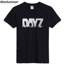 Fabulous t-shirt Männer SPIEL DAYZ Gedruckt Kurzarm Geburtstag geschenke 3D Shirt S-XXXL Schwarz Oansatz 100% baumwolle Herren fahion 2017 t