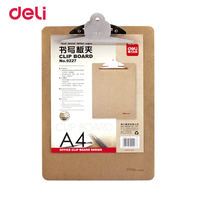 315 226 Size Paper Clip Write Use Deli Sub Plate Holder A4 Wooden Practical Wood Colour