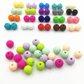 New Silicone teething beads,10mm,Multi,100PCS Silicone bead chewing Teether Necklace Wholesale stainless steel necklace