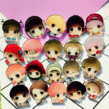 Kawaii 1Pcs Pretty Boy Cartoon Badge Pins For Clothes Acrylic Badge  Anime Icons Pin Chapas Badges Backpack Icons