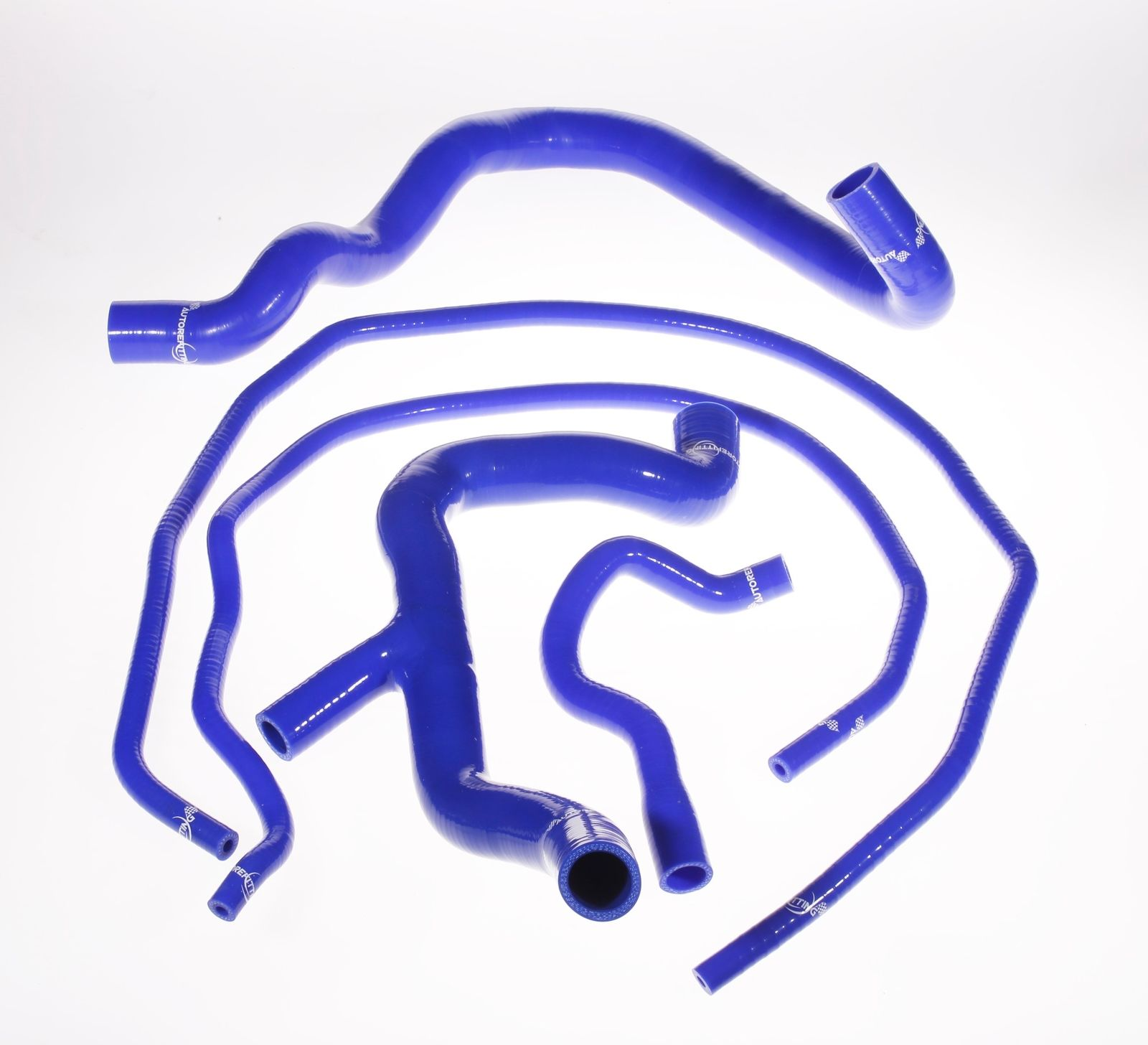 Universal Bule Silicone Coolant Hose Kit For Ford ST 225