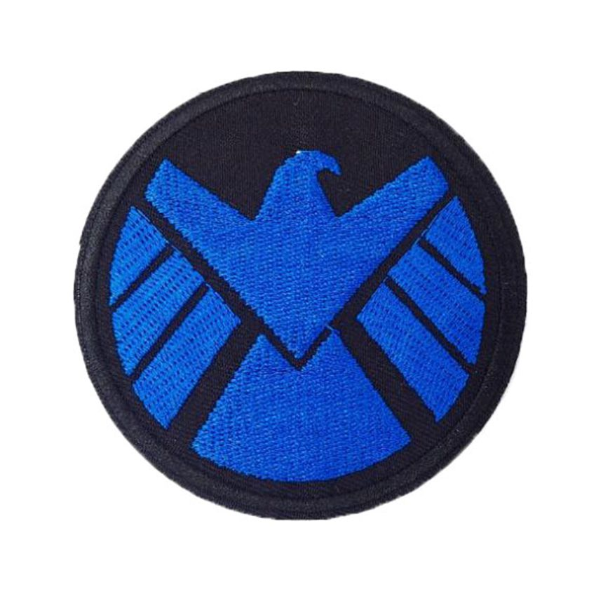 Marvel Comics Agents Of Shield Symbol And Name Patch
