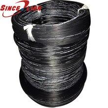 Linha de borracha de silicone 30awg cabo de silicone multi-core fio paralelo 2pin 3 p 4 p 5 6pin 5 metros fio de cobre tingido cabo de cobre
