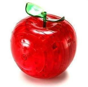 Aliexpress.com : Buy 3D apple puzzle for kids hot sale new design puzzle crystal apple puzzle ...
