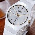 Mulheres Cerâmica Relógio Marca de luxo DALISHI Moda Charme Casual Senhora Relógio De Quartzo 2016 Novo Design Simples Feminino Relogio