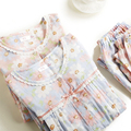 Pregnant Women Breastfeeding Clothes Pigiama Allattamento Lactating Women Womens Nursing Pyjama Maternity Nightwear 70M036