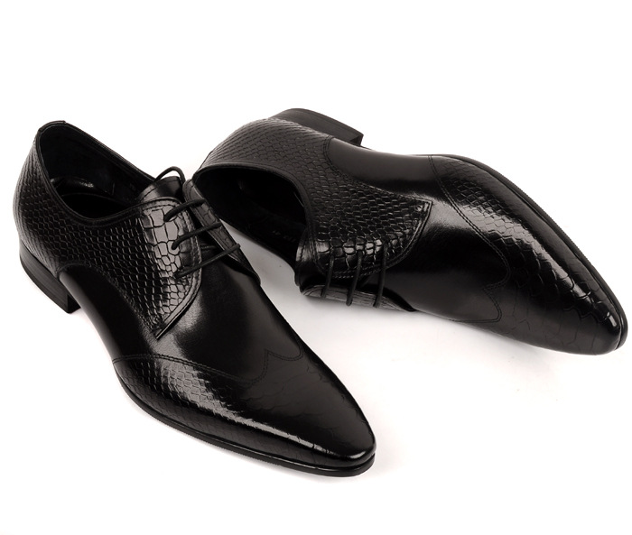 Zapatos De 2 Vestir Moda Up Boda Toe Repujado Alta Lace Cuero 1 Hombres Nuevo Mens Calidad Trabajo Hombre Genuino Punta 5q4HE