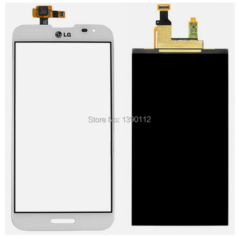 White For LG Optimus G Pro E980 E985 Touch Glass Digitizer + LCD Display Screen