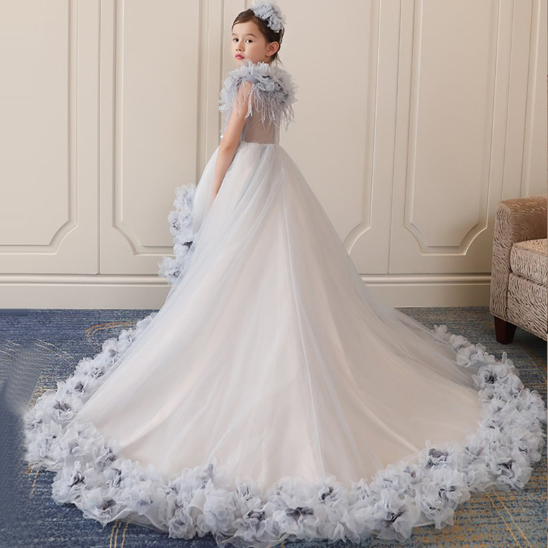 Royal Wedding Ball Gown: Royal Princess Dress Appliques Ball Gown Wedding Party