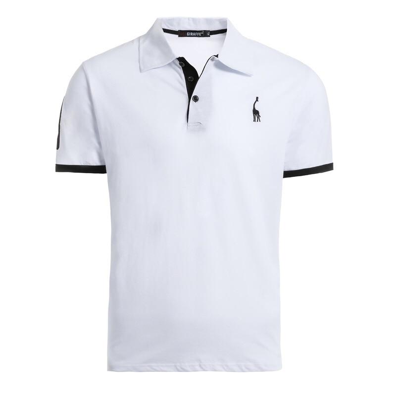 Mga kolor sa 16 100% Cotton Polo Giraffe T Shirt