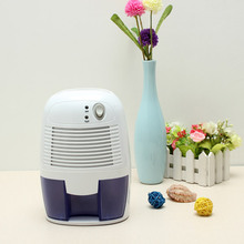 Mini Dehumidifier 9V 2 5A Portable Mini Desiccant Electronic Semiconductor Intelligent Dehumidifier Compact Air Dryer 500ML