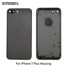 For Apple iPhone 7 Plus Metal Back Battery Housing Cover Rear Door Case For iPhone 7P Back Housing Middle Chassis Replacement стоимость