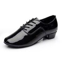 Pu latin dance shoes for boy Men Salsa Ballroom Tango dancing Shoes Man dance shoes dancing for boy kids Shoes zapatos de baile