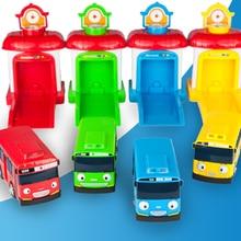 4 шт./компл. Масштабная модель маленький автобус дети миниатюрный автобус мини пластиковые детские гараж автобус chirstmas подарок