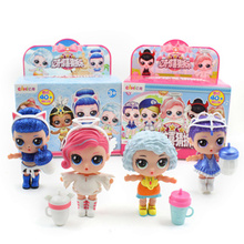 New Eaki original Generate lol Doll Children puzzles Toy Kids funny DIY toy Princess box multi model Gift