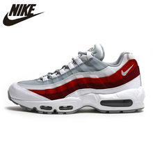 7d927786bcbec5 Nike Air Max 95 TT Pack Slow Shock Running Shoes White Red For Men And Women  749766-103 40-45