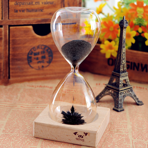 Magnetometric Hourglass Diy Romantic Gifts Birthday Gift