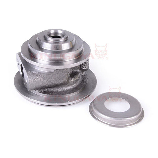 Turbo Bearing Housing for Mitsubishi 4D56 4M40T TD04 Oil Cooled w/ Heat Shield