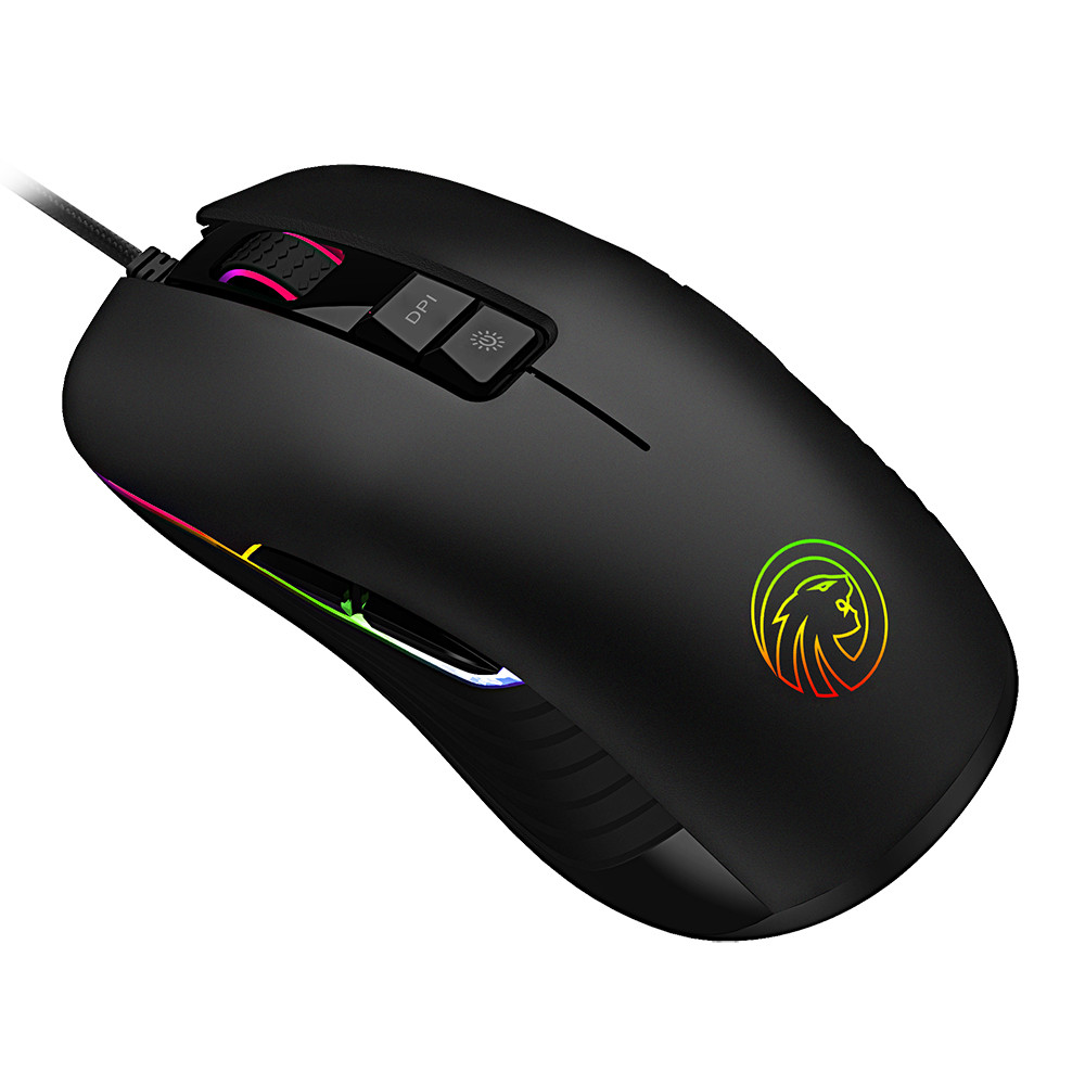 2018 New 5000 DPI Optical Adjustable 9 Button Wired Mechanical Gaming Mouse Office Mouse For PC