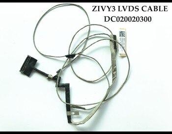 Nueva línea de pantalla de Y50-70 Original para Lenovo Y50 Cable LVDS de LCD, no táctil, 30 pines DC02001YQ00 Touch DC02001ZA00, 40 pines probados