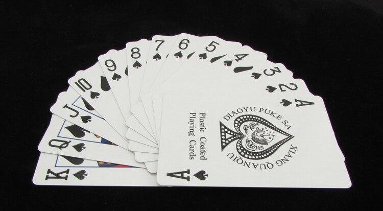 Cartes de Poker magiques tours de magie jeu bricolage MTG cartes de papier meilleur cadeau accessoires d'exercice conception différente 500 ensembles - 2
