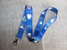 b3a47bd03cb2 Nouveau Dessin Animé 1 PCS totoro Lanière tour de Cou Mobile Téléphone  Charmes Chaîne Key ID Badge Porte-clés LS32