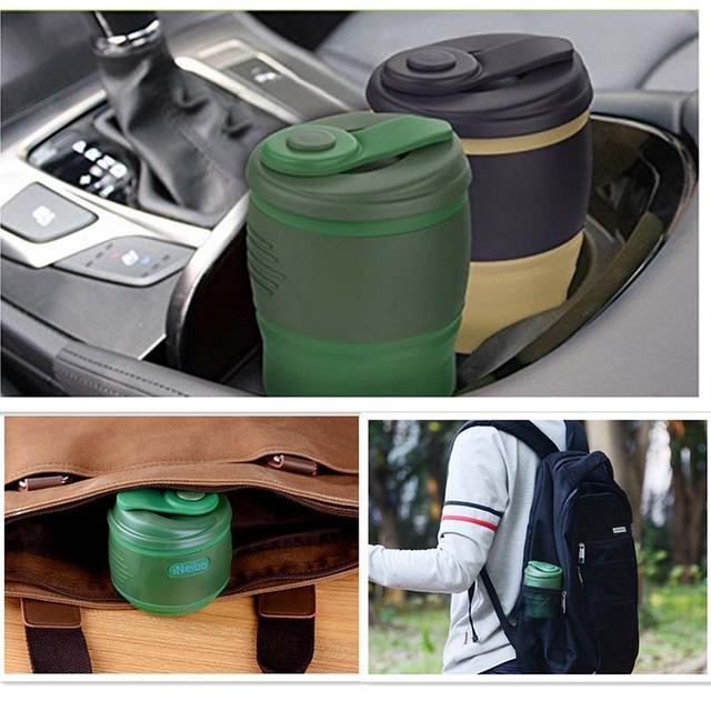 Practical Portable Foldable Eco-Friendly Travel Mug