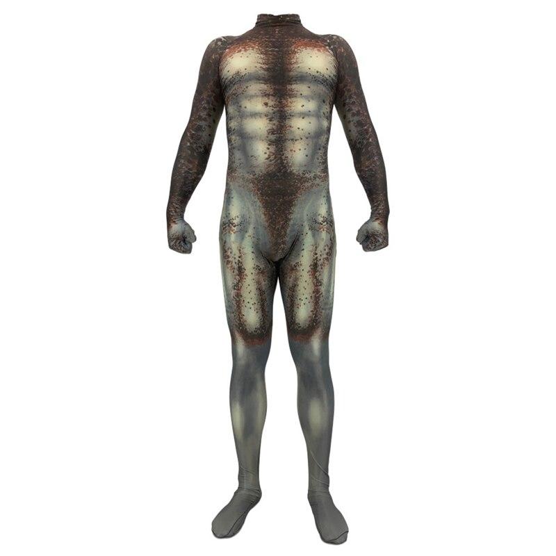 Image 5 - 大人子供アニメプレデター衣装全身タイツスーパーヒーローの衣装ボディスーツスーツジャンプスーツプレデターステイシーコスプレハロウィン  BOOCRE    グループ上の ノベルティ
