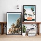Palm Trees Print Bea...