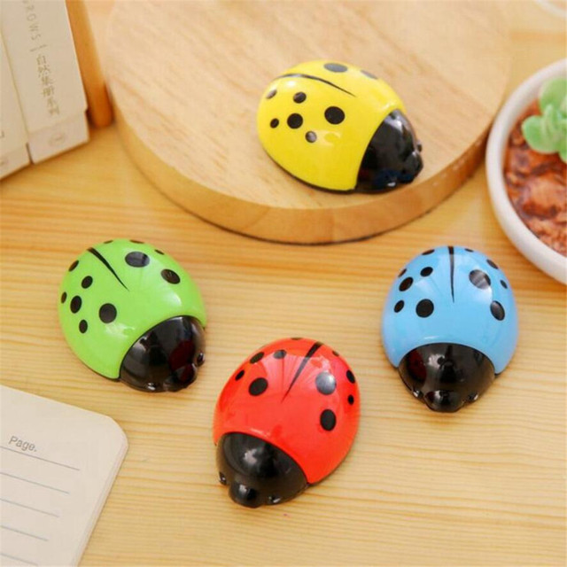 Ladybug Shaped Pencil Sharpener