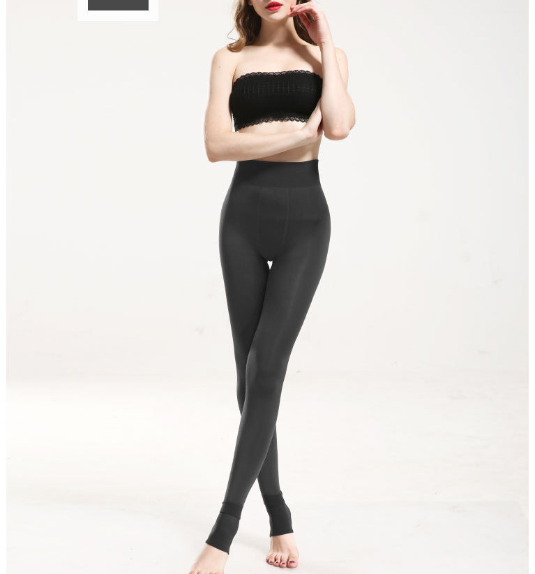 YRRETY Winter Warm Velvet Thick Skinny Pants Women Plus Size High Waist Leggings Trousers Female Clothing Pencil Pants Femme 47