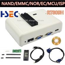EMMC Nand FLASH RT809H, envío gratis, Programa universal extremadamente rápido, mejor que RT809F/TL866CS/tl86a/NAND