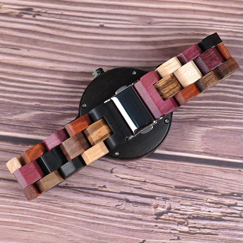 Бобо птица кварцевые часы для мужчин reloj mujer лось гравировка деревянные женские часы в деревянной коробке relogio masculino отличный подарок для влюбленных