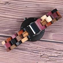 BOBO BIRD Quartz Watch Men reloj mujer Elk Engraving Wooden Women Watches in Wood Box relogio masculino Great Gift for Lover
