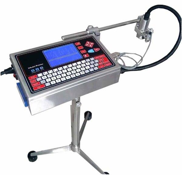 Máquina de impresión de fecha de inyección de tinta aprobada 100%, impresora de inyección de caracteres