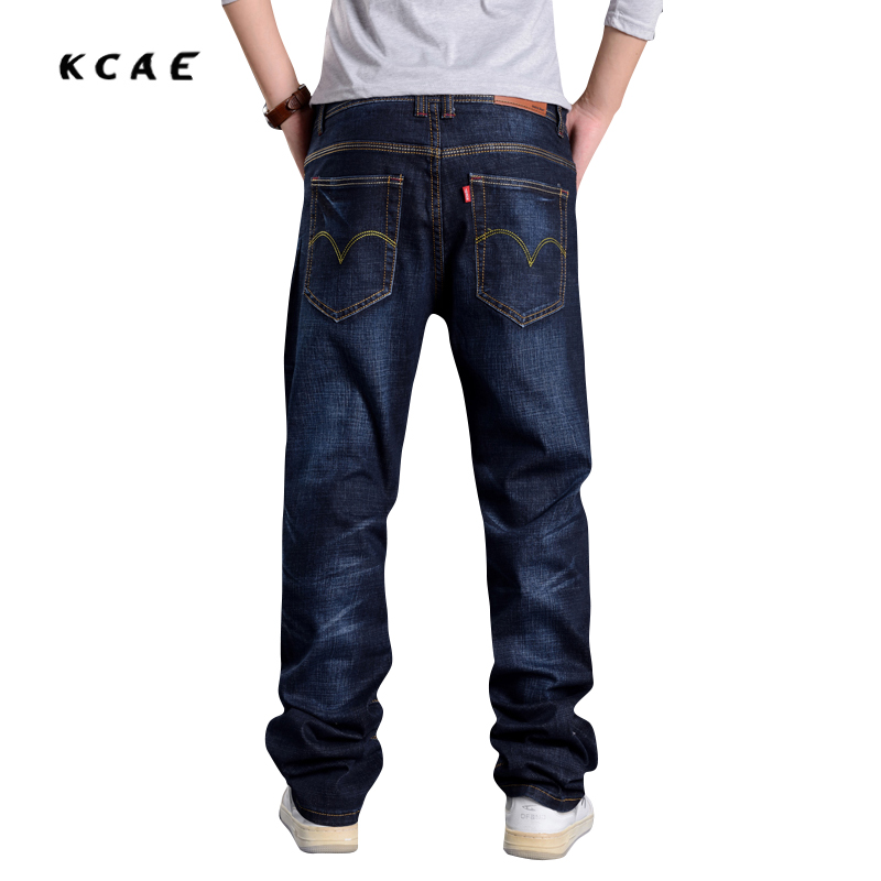 New Hot Men Baggy Jeans Big Size Mens Hip Hop Jeans Loose Fashion Skateboard Baggy Relaxed Jeans For Men Street Dance Harem Pant hot new large size jeans fashion loose jeans hip hop casual jeans wide leg jeans