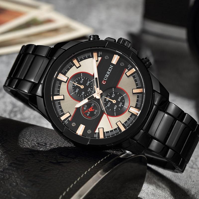 CURREN 8274 Quartz Man Watch Men Watches Top Brand Luxury Stainless Steel  Men Male Clock Wristwatch Hodinky Sport Clock Dropship-in Quartz Watches  from ... 9511c011141