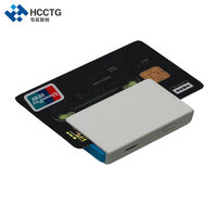EMV OEM Magnetik dan Kontak IC Bluetooth Ponsel Pembaca Kartu Kredit MPR100