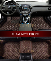 Car Floor Mats For Cadillac CTS 2008 20173D Custom Fit Car Styling All Weather Carpet Floor